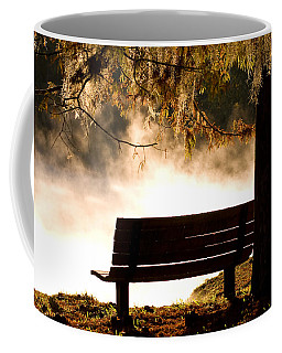 Morning Mist At The Spring Coffee Mug