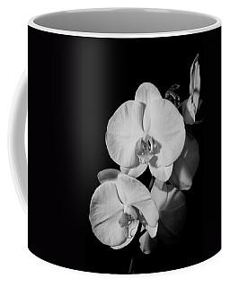 Moth Orchid Bw Coffee Mug