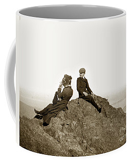 Coffee Mug featuring the photograph Mount Tamalpais Marin County  Circa 1902 by California Views Mr Pat Hathaway Archives