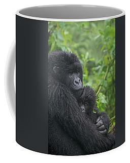 Mountain Gorilla, Gorilla Beringei Coffee Mug