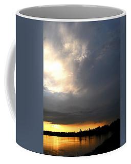 Mountain Lake Sunset Pocono Region Pennsylvania  Coffee Mug