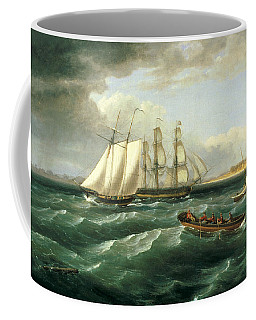 Mouth Of The Delaware Coffee Mug