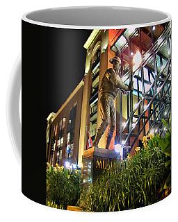 Musial Statue At Night Coffee Mug
