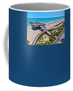 Coffee Mug featuring the photograph Myrtle Beach South Carolina by Alex Grichenko