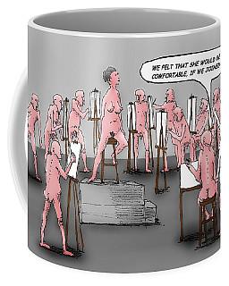 Naked Artists Coffee Mug