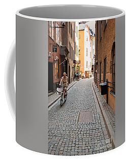 Narrow Stockholm Street Sweden Coffee Mug