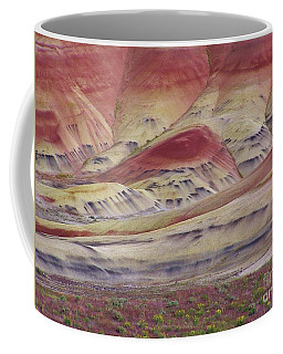 John Day Fossil Beds Painted Hills Coffee Mug