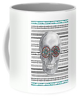 Navajo Skull Coffee Mug