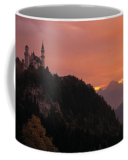 Neuschwanstein Palace Bavaria Germany Coffee Mug