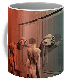 New Faces Coffee Mug by John Alexander