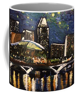 Night On The River Coffee Mug by Belinda Low