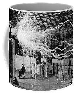 Nikola Tesla Serbian-american Inventor Coffee Mug