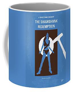 No246 My The Shawshank Redemption Minimal Movie Poster Coffee Mug