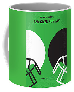 No420 My Any Given Sunday Minimal Movie Poster Coffee Mug