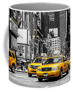 Nyc Yellow Cabs - Ck Coffee Mug