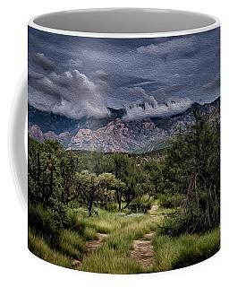 Odyssey Into Clouds Oil Coffee Mug