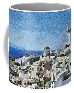 Oia Town Coffee Mug