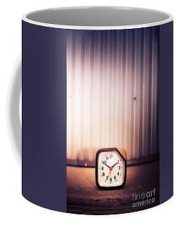 Old Analog Clock Coffee Mug