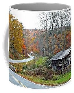 Old Barn Along Slick Fisher Road Coffee Mug
