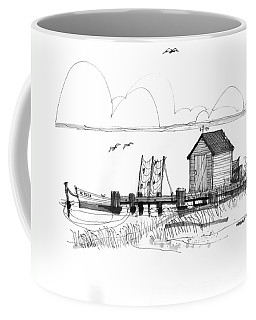 Old Fishermans Wharf Coffee Mug