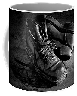 Old Leather Shoes Coffee Mug