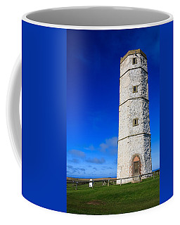Coffee Mug featuring the photograph Old Lighthouse Flamborough by Susan Leonard