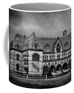 Old Post Office - Customs House B W Coffee Mug