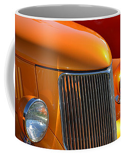 Orange Hotrod Coffee Mug by Dean Ferreira