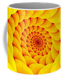 Yellow Pillow Vortex Coffee Mug