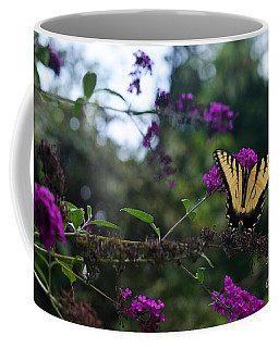 Coffee Mug featuring the photograph Out Of Bounds II by Judy Wolinsky