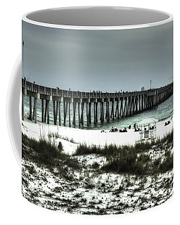 Panama City Beach Coffee Mug by Debra Forand