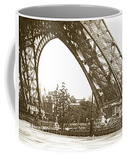 Coffee Mug featuring the photograph Paris Exposition Eiffel Tower Paris France 1900  Historical Photos by California Views Mr Pat Hathaway Archives