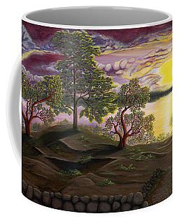 Peaceful Sunset Coffee Mug by Rebecca Parker