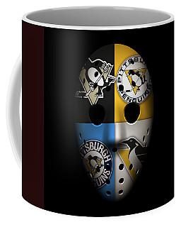 Penguins Goalie Mask Coffee Mug