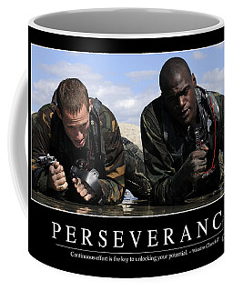 Perseverance Inspirational Quote Coffee Mug