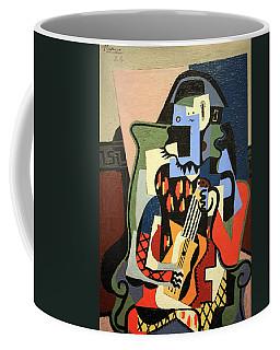 Picasso's Harlequin Musician Coffee Mug