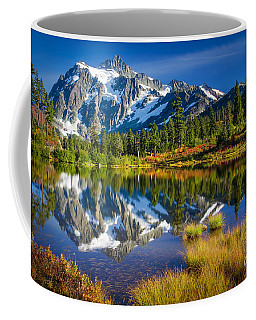 Picture Lake Coffee Mug