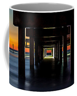 Pier Under II Coffee Mug