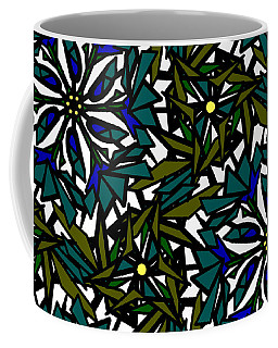 Pin-wheel Flowers Coffee Mug