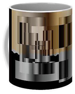 Coffee Mug featuring the digital art Pipes by Iris Gelbart