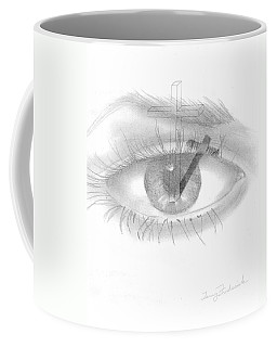 Plank In Eye Coffee Mug