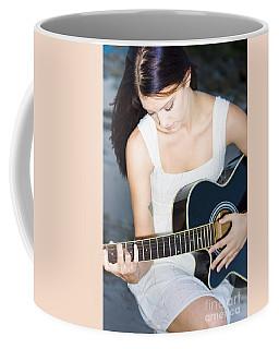 Playing Guitar Coffee Mug
