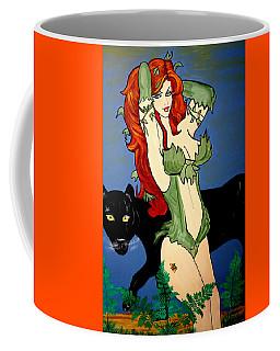 Poison Ivy  Cartoon Coffee Mug