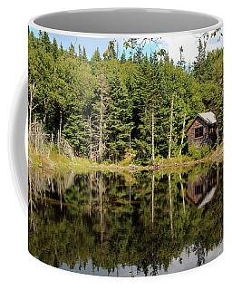 Pond Along The At Coffee Mug