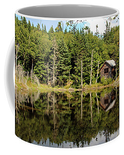 Pond Along The At Coffee Mug