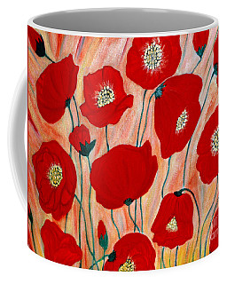 Poppies. Inspirations Collection. Coffee Mug