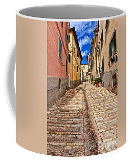 Portoferraio - Isle Of Elba Coffee Mug by Antonio Scarpi