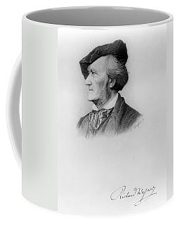 Portrait Of Richard Wagner German Coffee Mug
