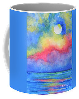 Coffee Mug featuring the painting Power Of Nature  by Chrisann Ellis