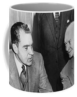 President Eisenhower And Nixon Coffee Mug